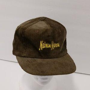 Vintage Neiman Marcus Corduroy Hat Cap Korea